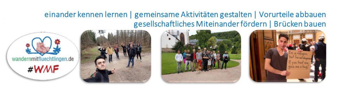 Wandern mit Flüchtlingen :: Rhein-Main